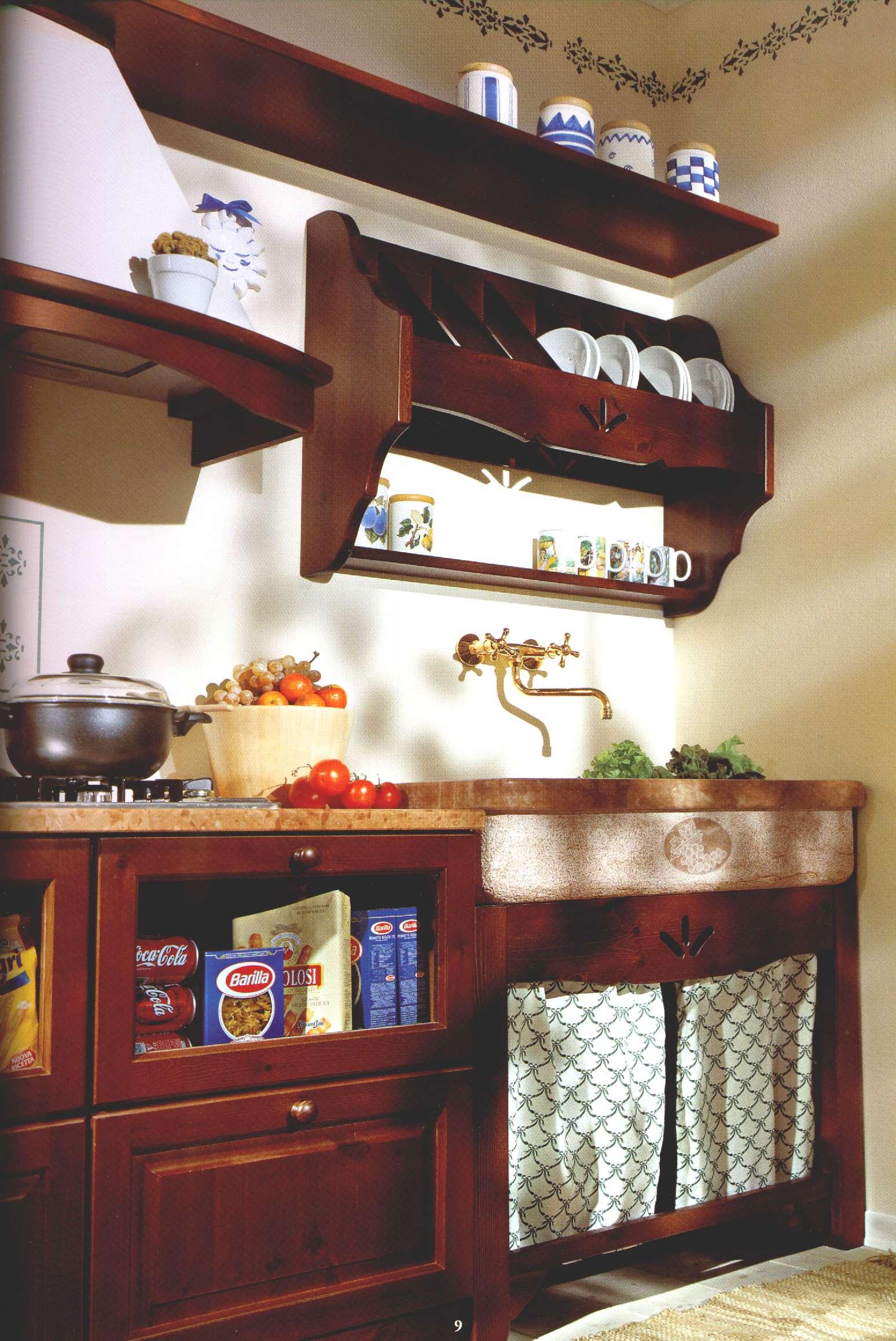 Cucina Rustica In Pietra: ... cucine in travertino, immagini marmo ...